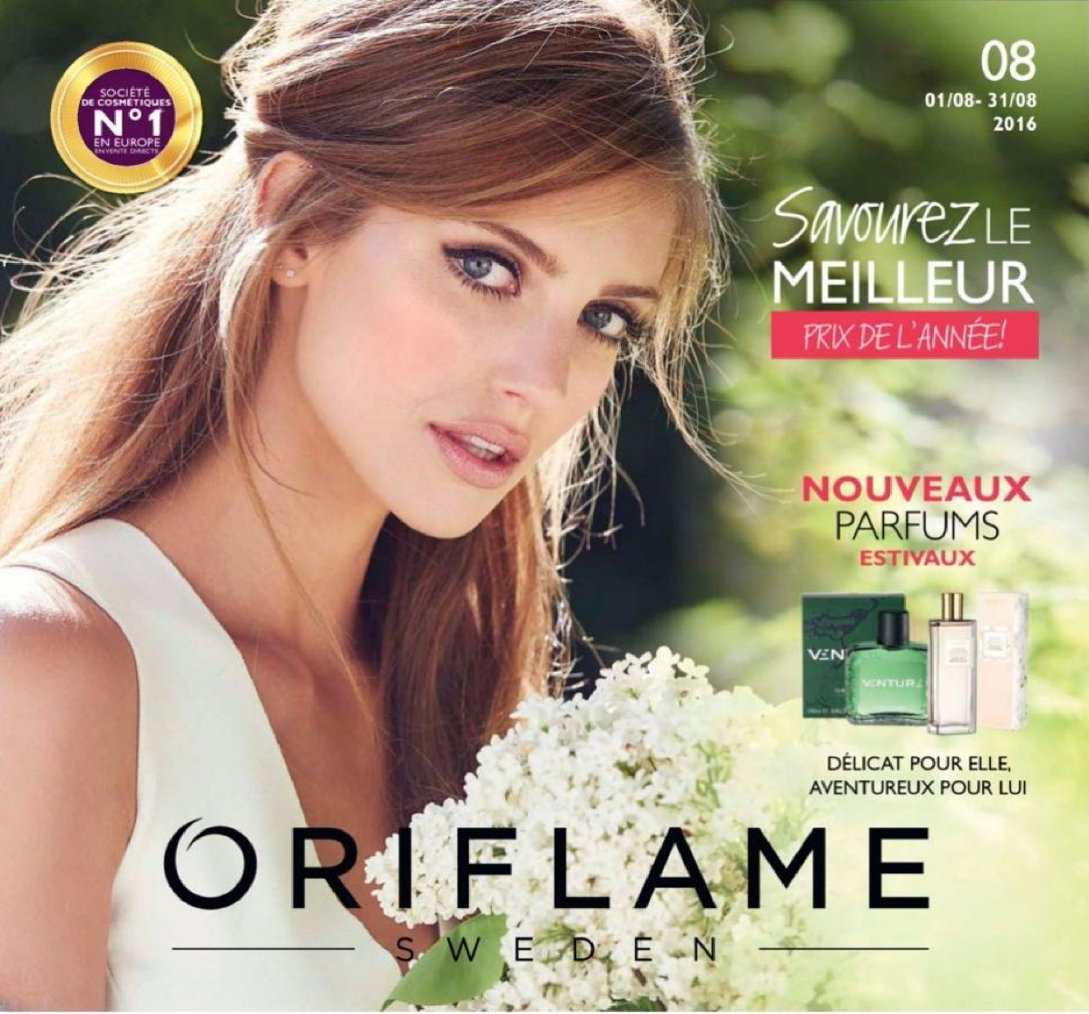 catalogue oriflame aout 2017