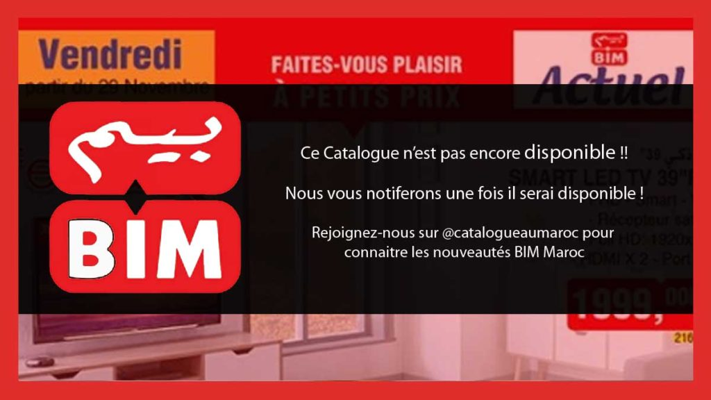 Catalogue BIM 20 Mars 2020