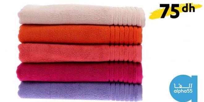 ✨ Découvrez notre sélection de serviettes de bain unies  100 % coton et dans tous les coloris ! 🌈  🚛 Livraison partout au Maroc 📲 Appelez le numéro 05 22 22 37 24 ou par message Whatssapp sur le 06 61 48 78 52 pour exprimer votre besoin. Un conseiller Alpha 55 vous guidera dans votre commande !                          (Alpha 55)